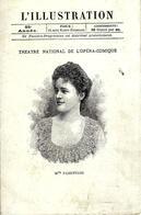 """PARIS 1897  THÉÂTRE NATIONAL OPERA COMIQUE  L ILLUSTRATION """"Lakmé""""  PROGRAMME  SUPERBE - Programme"""