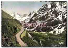 CPM Les Belles Alpes Francaises Les Grands Cols Route Du Lautaret At Massif Du Pelvoux - France