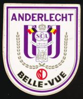 AUTOCOLLANT, STICKERS : ANDERLECHT BELLE-VUE (Belgique), SCA - Autocollants