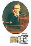MAX 53 - 188 Italy, Giglielmo MARCONI - Maximum Card - 2009 - Prix Nobel