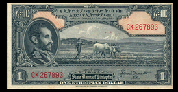 # # # Ältere Banknote Aus Äthiopien (Ethiopia) 1 Dollar (P-12) # # # - Ethiopie