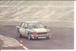 "PHOTO D'ARCHIVES : COURSE AUTOMOBILE - MONTLHERY 1986 -   "" PEUGEOT 505 TURBO "" Pilote: ALMERAS ( MONTPELLIER ) - N° 36 - Montlhery"