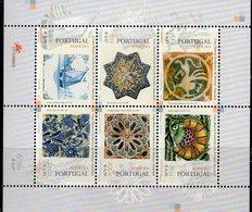 Museum Funchal 1999 Isle Madeira Block 19 ** 10€ Azulejos Kachel-Kunst Bloque Hb Bloc Art S/s Sheet M/s Bf Portugal - Funchal