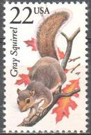 USA - Gray Grey Squirrel - MNH - Timbres