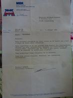Courrier De Motobécane - Vecchi Documenti
