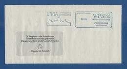 Privatpost - WPS Westdeutscher Post Service - UNNA, Hansestadt Am Hellweg (2) - Private & Local Mails