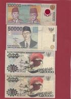 Indonésie 12 Billets Dans L 'état (10000-50000 Et 2 Billets De 20000 Rupiah 1995/98 ---FORTE COTE) Lot N °1 - Indonesien