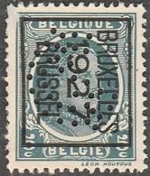 """Voorafgestempeld Zegel """"Houyoux"""" Met Perfin - 1909-34"""