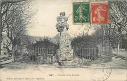 CPA 84 Vaucluse Apt Fontaine De La Cascade - Apt