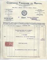 Huiles & Graisses REPTOIL 1938 / Cie Française Du REPTOIL / PARIS - Automovilismo