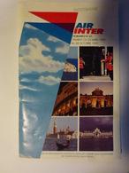 Horaires Air Inter - Europa
