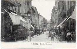 CETTE (SETE) La Rue Gambetta  (785 ASO) - Sete (Cette)