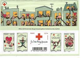 F4699 Au Profit De La Croix Rouge . Solidarité. 2012 - Nuevos