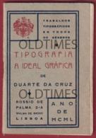 """PORTUGAL - LISBOA - TIPOGRAFIA """" A IDEAL GRÁFICA """" - CALENDÁRIO 1950 - Calendriers"""