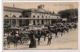 CETTE (SETE) La Gare - Attelages  (790 ASO) - Sete (Cette)