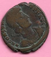 Monnaie Romaine ???? Diametre 21 Mm N082 - 470-751 Monnaies Mérovingiennes