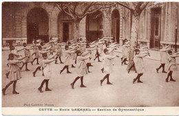 CETTE (SETE) Ecole Lakanal - Section Gymnastique    (792 ASO) - Sete (Cette)