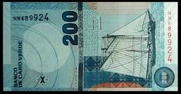 # # # Banknote Kap Verden (Cape Verde) 200 Escudos 2005 UNC # # # - Cabo Verde
