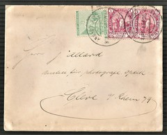 Cape Of Good Hope 1898. CAPE TOWN To Cleve, Germany. - Cape Of Good Hope (1853-1904)