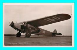 A815 / 023 AVION FOKKER VII B Paris - Londres - 1919-1938: Entre Guerres
