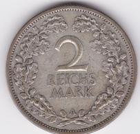 2 Reichs Mark 1927 A  TTB - [ 3] 1918-1933 : Weimar Republic