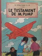 Jo, Zette & Jocko : Le Testament De M. Pump / Hergé - Jo, Zette & Jocko
