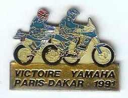 @@ Moto Rallye PARIS DAKAR 1991 Victoire Yamaha  @@mot55 - Motorfietsen
