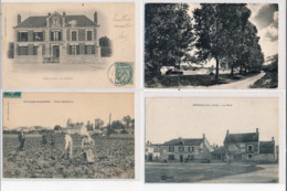 Lot De 136 CPA De D à K - (petites Villes Et Villages) ( Dont Scènes Animées) - Bon Etat Général - Frankreich