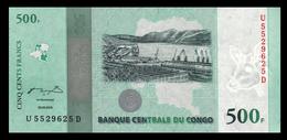 # # # Banknote Aus Kongo (Congo) 500 Francs 2010 Jubiläum UNC # # # - Congo