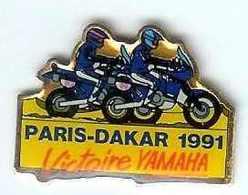 @@ Moto Rallye PARIS DAKAR 1991 Victoire Yamaha  @@mot77a - Motorfietsen
