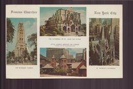 ETATS UNIS FAMOUS CHURCHES OF NEW YORK CITY - Autres Monuments, édifices