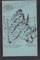 B58 /   WWI Pommerhanz Bayern Humor / Schutz Gegen Mitesser / Dresden - Ebersdorf - Humorísticas