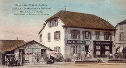 Delle - Hôtel Dubail - Restaurant - Pension De Vacances - Frontière Franco Suisse - Delle