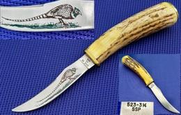 """Ancien Couteau De CHASSE US """"CASE"""" - Armes Blanches"""
