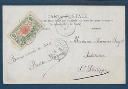 REUNION -  Carte De Saint Denis Pour St Philippe - Lettres & Documents