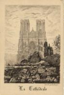 Gravure Par R Varin La Cathedrale De Reims RV - Reims