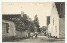 Brinon Sur Beuvron    (58 - Nièvre)  Une Rue - 16 - Brinon Sur Beuvron