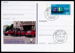 81645) BRD PSo 33 - ESST Gestempet - 80Pf  Briefmarkenmesse Essen 1994 - [7] Federal Republic