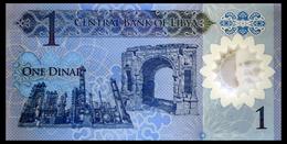 # # # Banknote Libyen (Libya) 1 Dinars UNC # # # - Libya