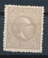 Nederlands Indië - 1868 - 50 Cent Willem III, Proef 22l - Licht Lilagrijs - Niederländisch-Indien