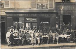 75 . PARIS XVIIIe AR --  CAFÉ-RESTAURANT Maison GEORGES  / Maurice FORTET Successeur  -  9 RUE DE LA NATION - Arrondissement: 18