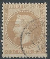Lot N°55338   N°28A, Oblit Cachet à Date De Nesle, Somme (76) - 1863-1870 Napoleone III Con Gli Allori