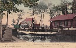 Sluis Aankomst Van De Stoomboot Sluis Brugge - Autres