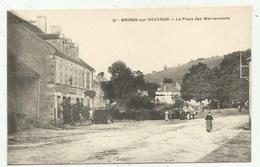 Brinon Sur Beuvron    (58 - Nièvre)  La Place Des Marronniers - 21 - Brinon Sur Beuvron