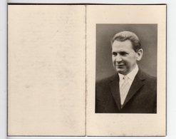 Doodsprentje P. SOENS °1908 Brussel Mijningenieur Beheerder Melkerij Nosta & Ijsfabriek Strombeek +1964 Asse - Images Religieuses