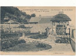 SAINT ETIENNE DE CHIGNY - Les Terrasses, Coin Du Jardin - Other Municipalities