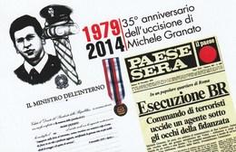 Mestieri Polizia - Lercara Friddi (PA) 2014 - App. P.S. Michele Granato Vittima Del Terrorismo - - Polizia – Gendarmeria