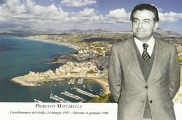 Tematica Politica - Castellamare Del Golfo (TP) 2015 - 80° Anniv. Nascita Piersanti  Mattarella - - Figuren