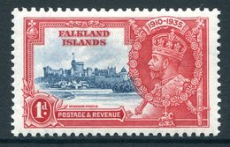 Falkland Islands 1935 KGV Silver Jubilee - 1d Value HM (SG 139) - Falkland