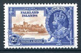 Falkland Islands 1935 KGV Silver Jubilee - 2½d Value Used (SG 140) - Falkland